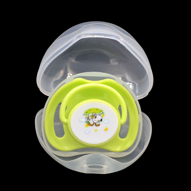 WEIXINBUY Portable Baby Nipple Box Boy Girl Infant Pacifier Cradle Case Holder Soother Boxs Hot