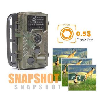 16MP 1080P Trail Hunting Camera Wildcamera Wild Surveillance HC800A Night Version Wildlife Scouting Cameras Photo Traps Track