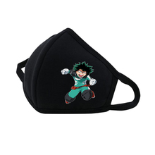 anime My Hero Academia Mouth Face Mask Dustproof Breathable Protective Cover Masks Reusable Respiratory Care mask