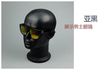 Fashionable Style Men Fiberglass Head Model Sunglasses Display Head Mannequin On Sale