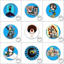 1pcs Game Gegege no Kitaro Cosplay Badge Cartoon Brooch Pins for Backpacks bags Badges Button Clothes Accessories