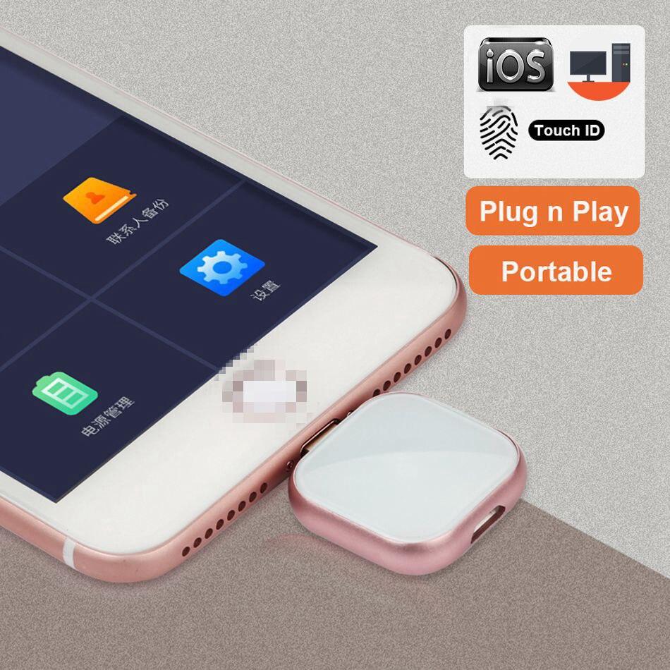 Supersonique Métal OTG Clé Usb 32 GO 128 GO 256GB de stockage Externe Pour iphone X 8 7 Plus 6 6s Plus 5S ipad Macbook