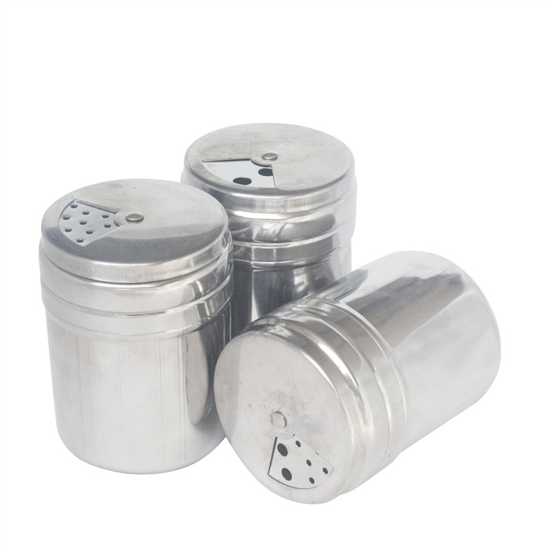 Butterfly Roasted Stainless Steel Seasoning Pot Pepper Pots Small Toothpick Bottle 3-hole Can Hold The Post Of Go Barbecue Acces