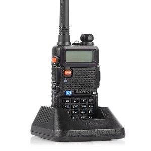 Image 4 - Baofeng UV 5R 워키 토키 10km UV5R CB 라디오 5W 128CH VHF UHF 듀얼 밴드 Baofeng UV 5R 양방향 햄 라디오 comunicador 스캐너