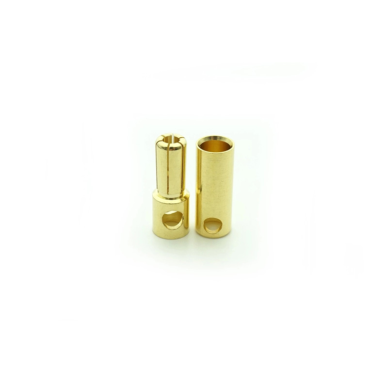 4MM Bullet Connector Male Female Brushless Motor Banana Plug 10 Pairs/lot Gold Plated DIY Connectors For Electric Skateboard