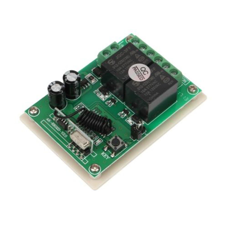DC 12V 10A 433MHz Wireless RF Relay Remote Control Switch Receiver Transmitter