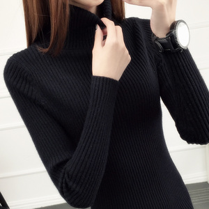 Image 5 - Jumper Full Sweater Real New Autumn And Winter Style 2020 Short style Jacket With Inner Lap Thicker Long sleeved Knitted Bottom
