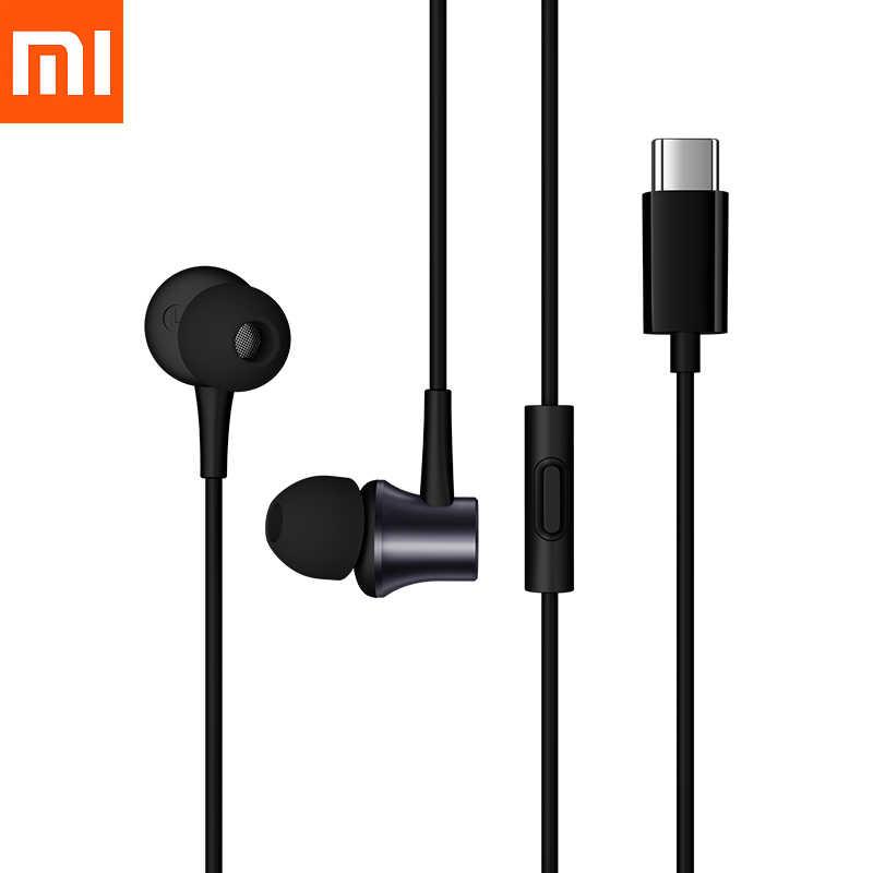 Xiaomi 9 9T 9SE en la oreja fresco auricular USB tipo C auricular Original auricular para mi 8 8SE CC9 CC9e 6 6X A3 8 lite mi x 2 2 Nota 2