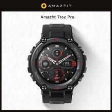 Amazfit Trex Pro T-rex T-Rex GPS reloj inteligente para exterior 18-Día de la vida de la batería 100 + Deportes modos reloj inteligente para Android iOS teléfono