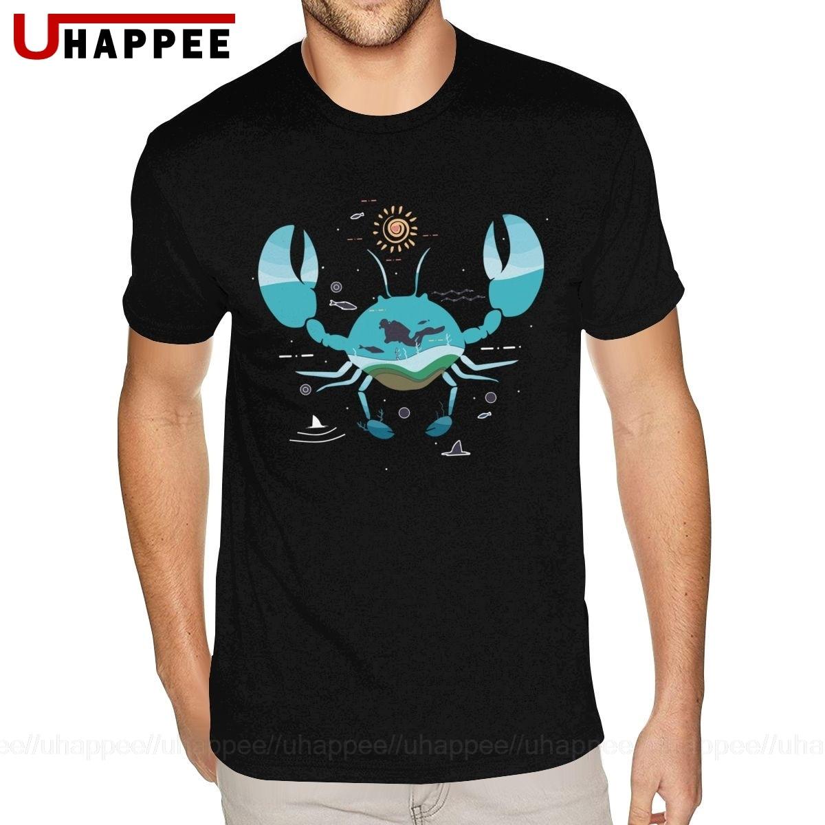 Big Tall Crab Tees Men S Grunge Fashion Designers Short Sleeves Men Summer T Shirts 1990s Clothing T Shirts Aliexpress