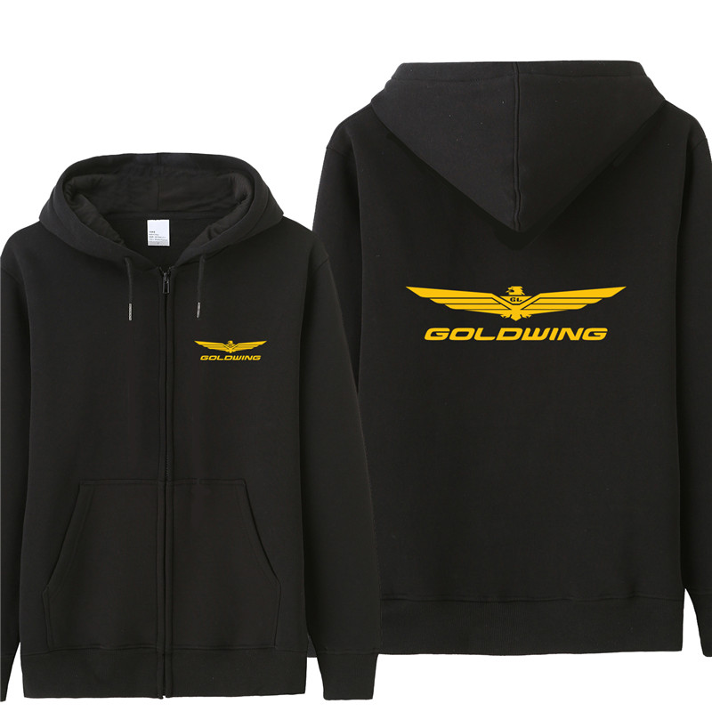 Autumn Goldwing GL1800 1500 Sweatshirt Hoodies Men Fashion Coat Pullover Fleece Pullover Unisex Man Goldwing  Sweatshirts
