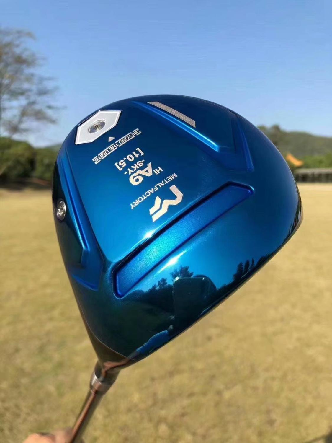 Golf Club New  METALFACTORY A9 Golf Driver Heads 9.5or10.5loft Golf Clubs Heads With Headcover No Drives Shaft Free Shipping