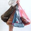 100 штук-разделительный мешок для мусора  домашний мусор  толстые одноразовые кухонные черные пластиковые пакеты  общежития для обучения