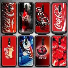Bebida cola Caso de Telefone Para Oppo A5 A9 2020 Reno2 z Renoace 3pro A73S A71 F11