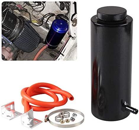 Универсальный автомобильный радиатор, резервуар охлаждающей жидкости 800 мл, резервуар для перелива масла, резервуар для охлаждения, резервуар для бутылки, алюминиевая заготовка