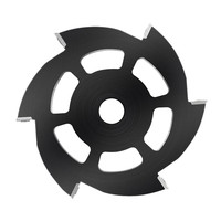 115mm Wood Carving Disc 6 Square Round Carbide Inserts Angle Grinder Disc Wood Shaping Disc Woodworking Cutting Disc
