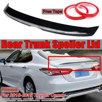 High Quality Glossy Black / Matte Black Car Rear Trunk Boot Lip Spoiler Lid Wing For Toyota For Camry 2018 2019 Car Spoiler Wing