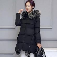 Зимнее пальто для беременных; Новинка года; пуховик с капюшоном и воротником из искусственного меха для беременных; плотная теплая верхняя одежда для беременных; женские куртки и пальто