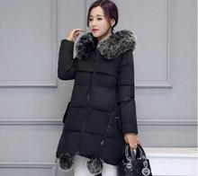 Maternity Winter Coats 2019 new Faux Fur Collar Hooded Down Parka Maternity Pregnant Thicken Warm Outwear Women Jackets & Coats недорого