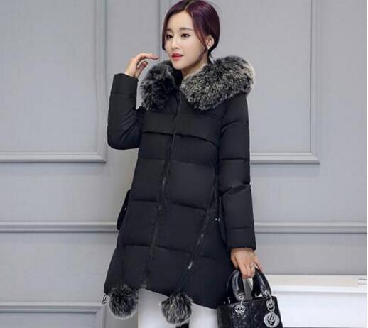 Maternity Winter Coats 2020 new Faux Fur Collar Hooded Down Parka Maternity Pregnant Thicken Warm Outwear Women Jackets & Coats