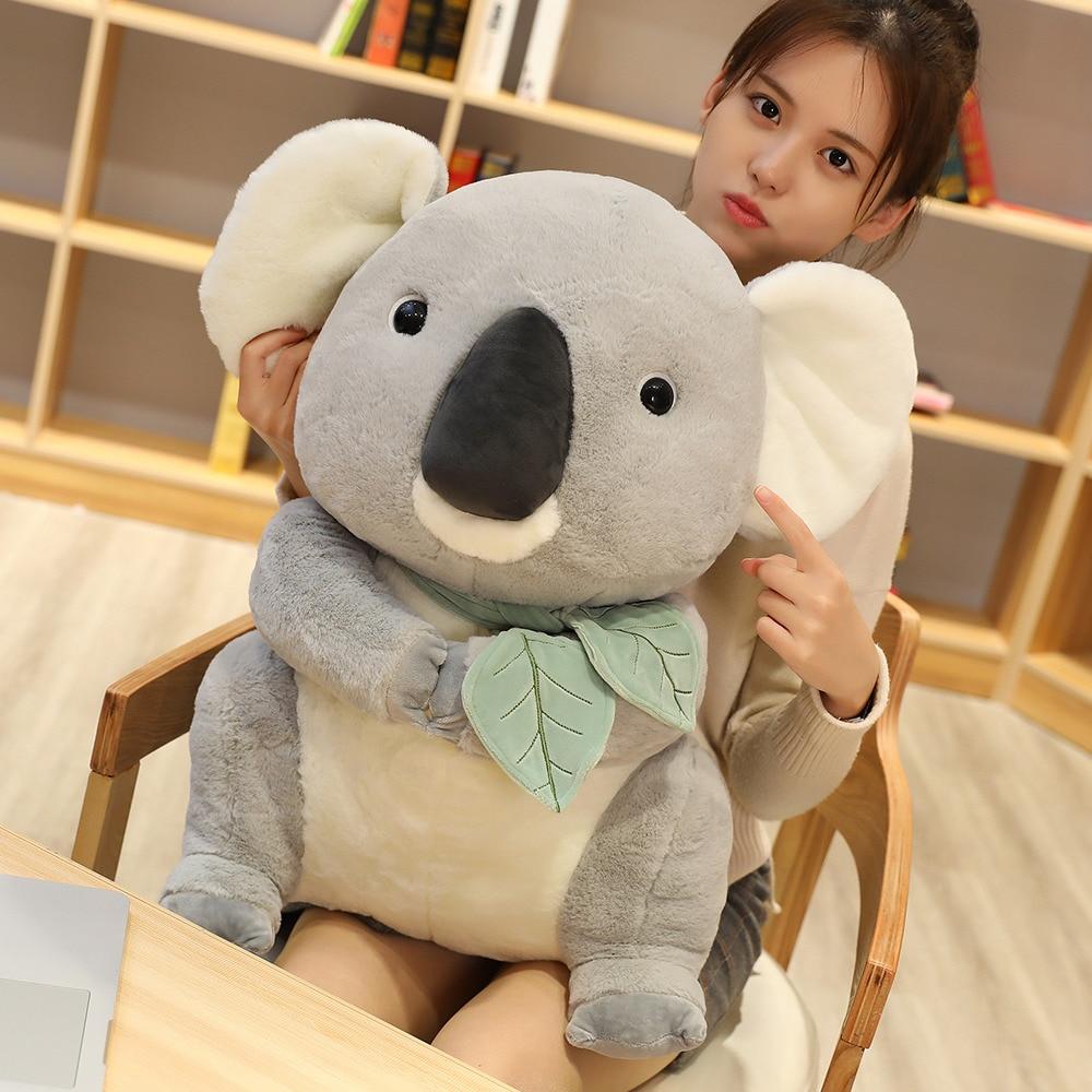 Big Soft Koalas Toys Plush Dolls Stuffed Koalas Plush Toys Kawaii Animal Simulation Koalas Kids Girl Christmas Gift 30-70cm