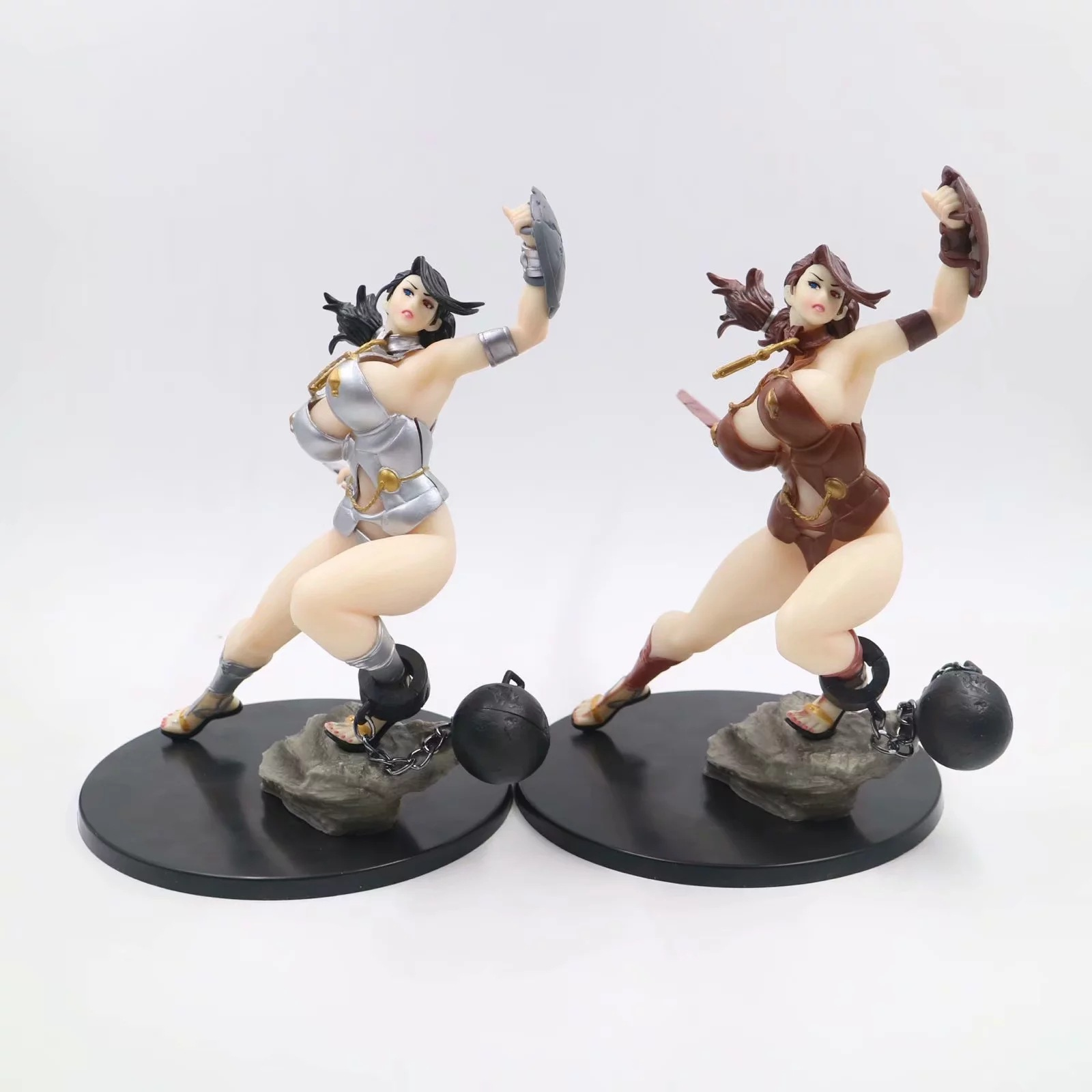 Japanese Anime Queen's Blade Q-six Branwen soft <font><b>body</b></font> <font><b>Action</b></font> <font><b>Figure</b></font> PVC <font><b>figures</b></font> Toys image