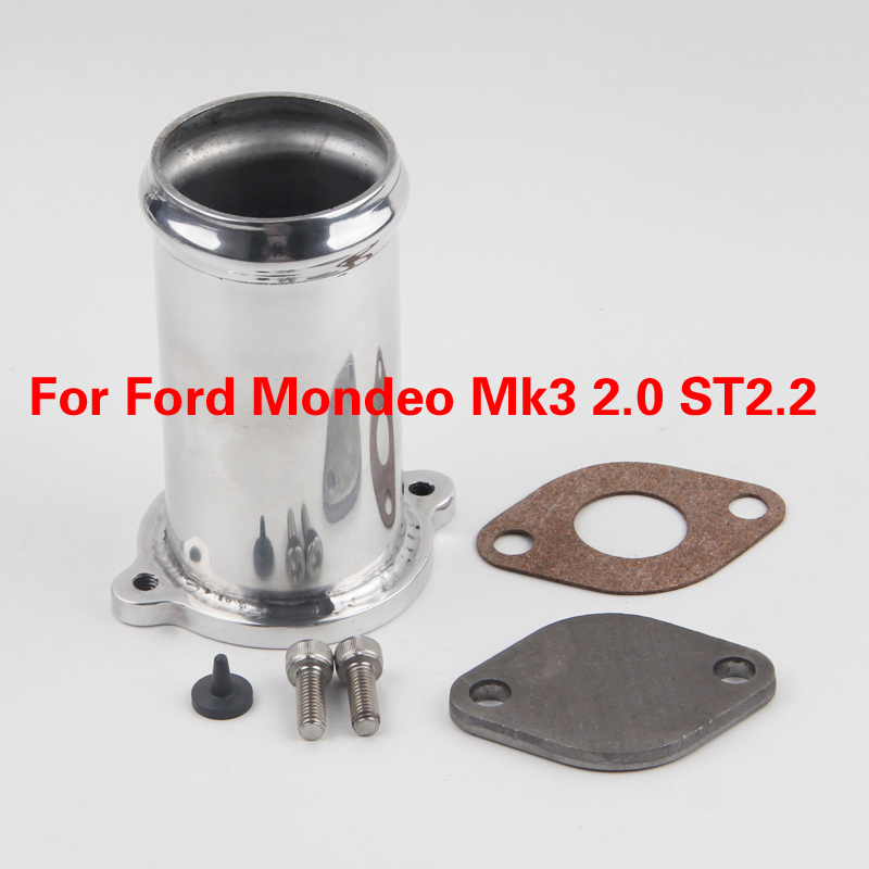 FREE SHIPPING EGR DELETE Kit For Ford Mondeo Mk3 2.0 ST2.2 TDCi Not Chip Tuning Box Exhaust Decat