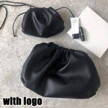 Nuvem feminina saco de luxo designer marca moda embreagem estilo da marca designer bolsas femininas bolsa de couro das senhoras
