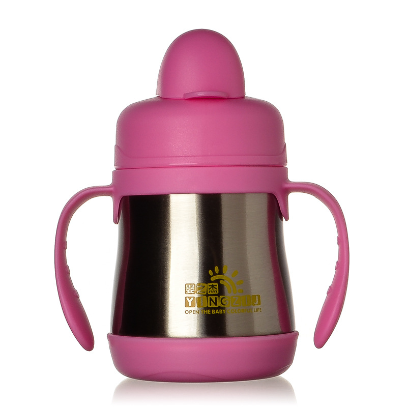 Baby Products 200ml Infant Stainless Steel Bottle Nipple Sippy Cup