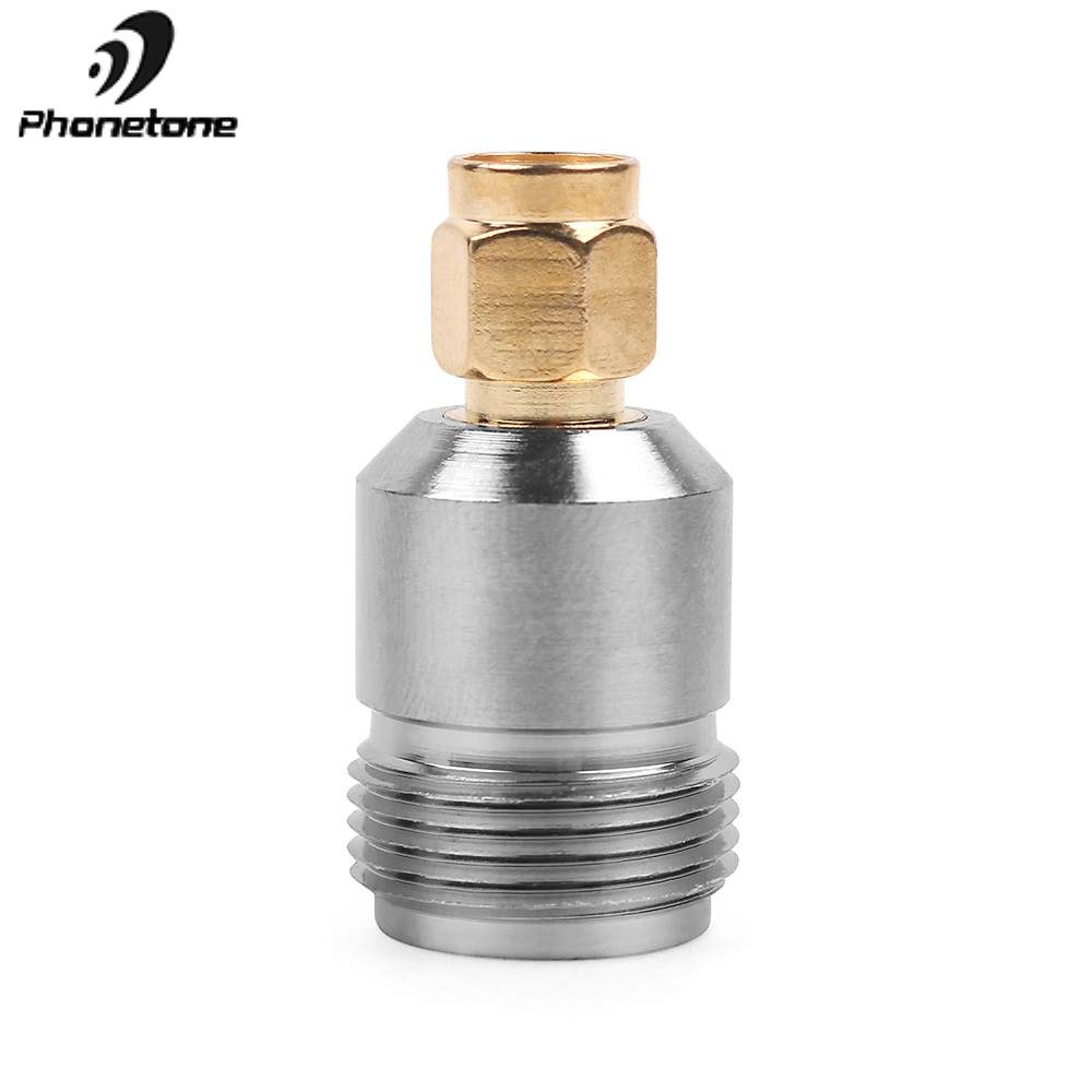 1pc RF Coxial Adapter N Female Jack To SMA Male Plug RF Adapter Connector Convertor Straight Nickel Plated For Antenna / Booster