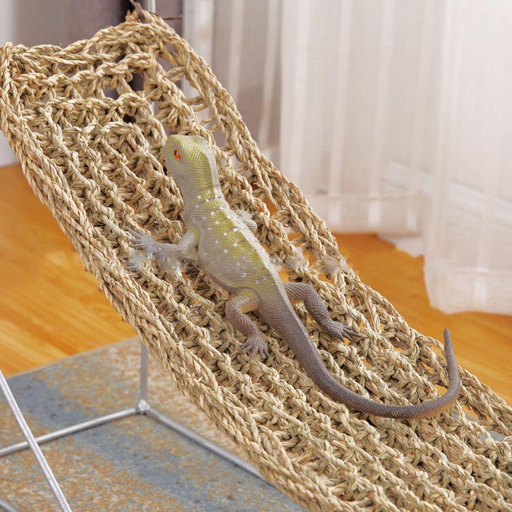 75x18cm réptil terrário para lagarto espreguiçadeira rede