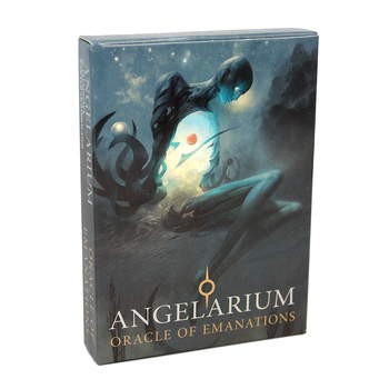 Angelarium: Oracle of Emanations Cards PDF Guidebook A fantastic oracle deck based on angels of the Kabbalah, the Tree of Life felix ayuk the oracle of reason