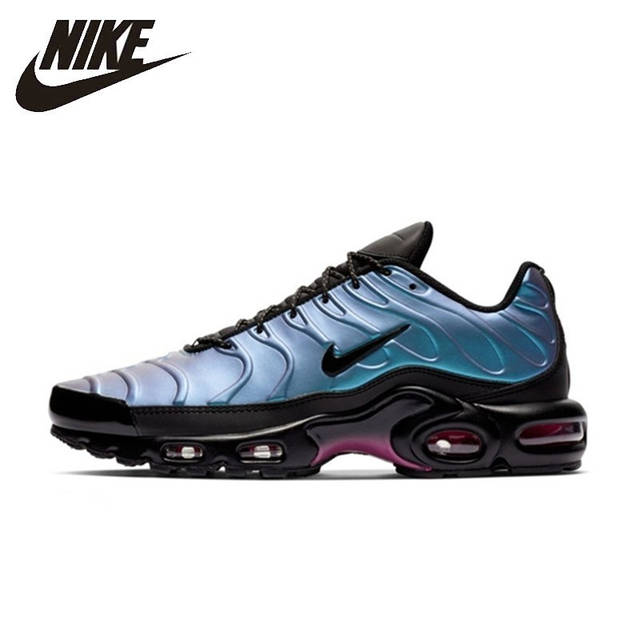 US $86.94 54% OFF|Nike Air Max Tn Plus Men Running Shoes Comfortable Air Cushion Outdoor Sports Sneakers Lightweight Sneakers Men #918240 003 in
