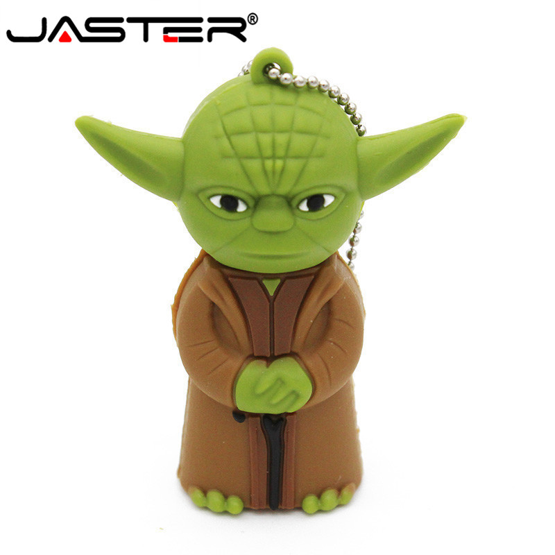 Star Wars 128GB Yoda Usb Flash Drive Pen Drive 4gb 8gb 16gb 32gb 64g Dark Darth Vader Drive Flash Pendrive Memory Stick U Disk