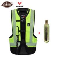 DUHAN Motorcycle Vest Motorcycle Air Bag Vest Motorcycle jacket Airbag Reflective Motorbike Air bag Moto Vest Protective Gear