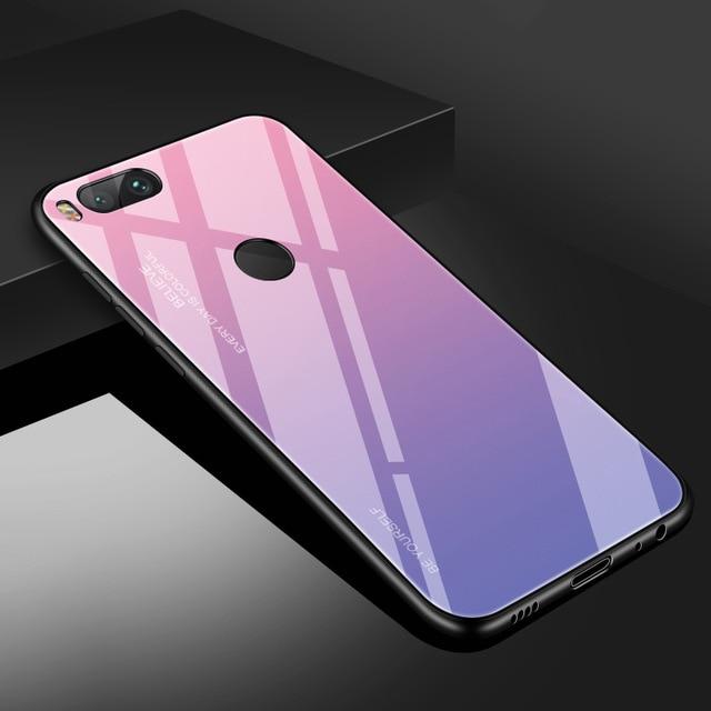 Чехол из закаленного стекла INIU для Xiaomi mi 9 SE 8 Pro A2 A1 Lite, Роскошный чехол для телефона mi x 3 2S Max 2 Note 3 Pocophone F1 - Цвет: 1