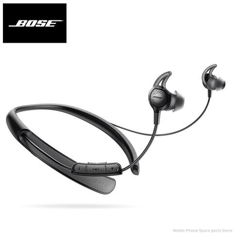 Fones de Ouvido Fones com Microfone 30 sem Fio Bose Quietcontrol Bluetooth Cancelamento Ruído Esporte Música Fone Baixo Qc30 Mod. 1458478