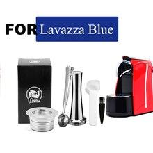 ICafilas для Lavazza фильтры для синего кофе многоразовые Lavazza LB951 & CB-100 машина из нержавеющей стали многоразовые капсулы для кофе