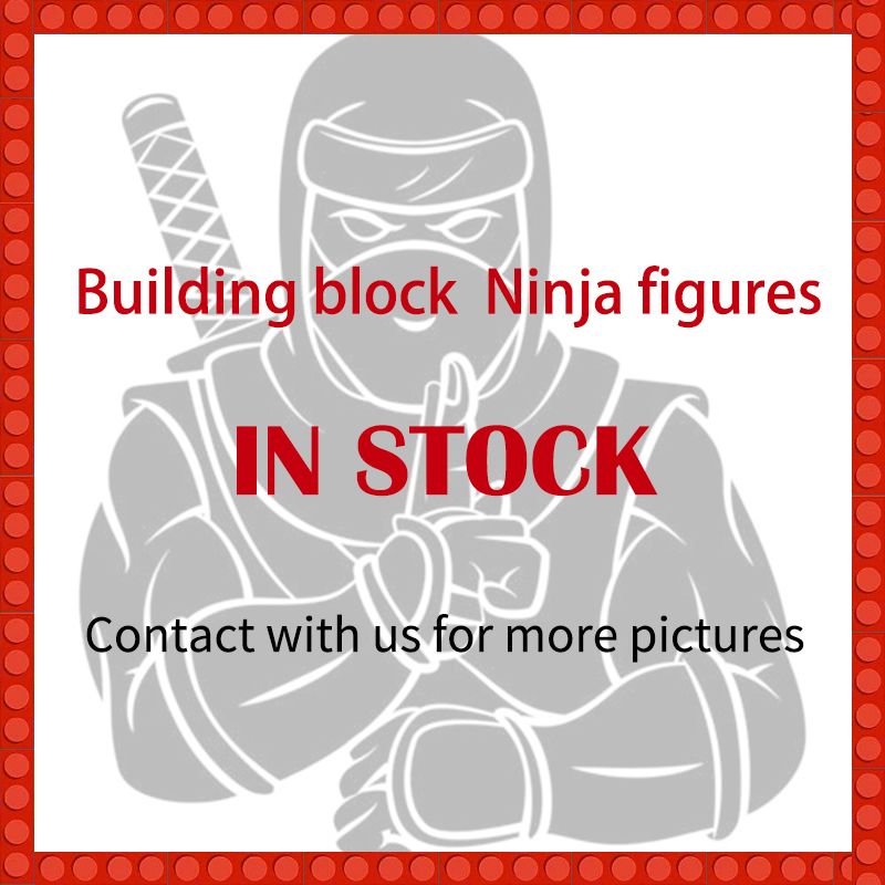 1pcs Ninja Kai Cole Jay Zane Lloyd Nya Mini Action Figures Building Blocks Kids Toy Gift Compatible Ninjagoed For Kid