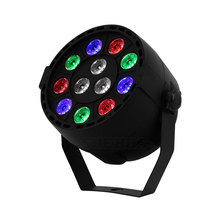 Colorful Stage Lighting 12 LEDS RGBW LED Light Par With DMX512 for Disco DJ Projector Machine Party Home Decoration