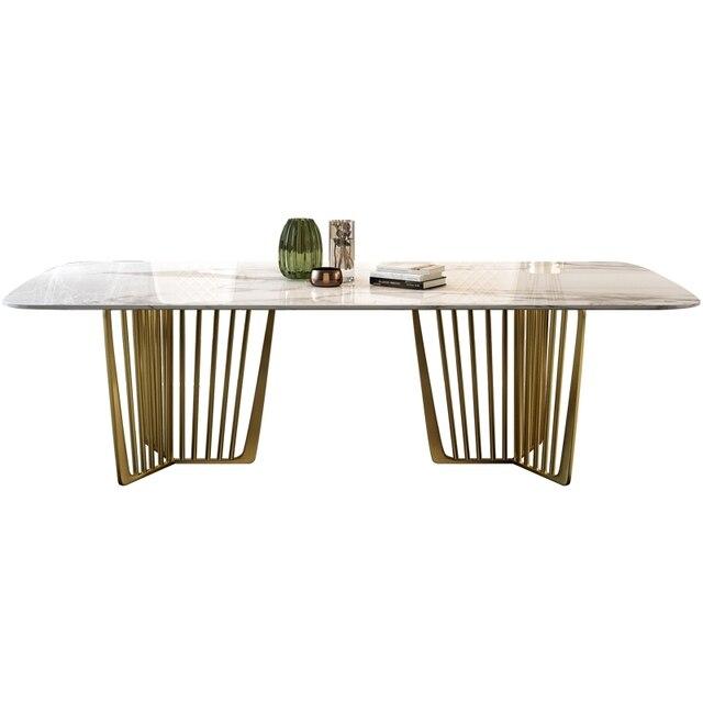 Luxury Marble Dining Set 5