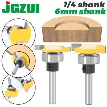 6mm Shank 1/4 Shank Handle Belt Bearing T Cutter Slotting Knife Router Bit Carpenter's Notch Knife