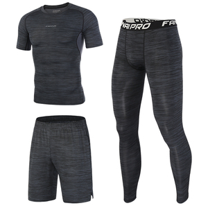 Image 2 - FANNAI New Compression Mens Sport Suits Quick Dry Running sets Sports Joggers Training Gym Fitness Tracksuits Running Sets