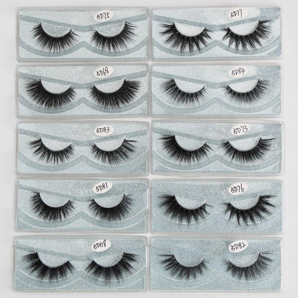 pares vison cílios maquiagem volume 3d vison