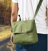 nostalgic backpack revolutionary satchel yellow satchel canvas backpack carrying cultural revolution satchel men's bag