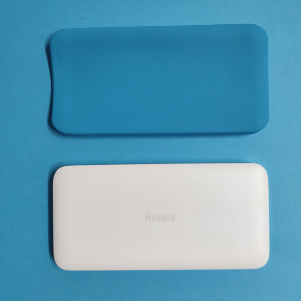 For xiaomi 20000mah <font><b>10000mAh</b></font> dual USB mobile power <font><b>Powerbank</b></font> accessories silicone protective cover protective cover leather bag image