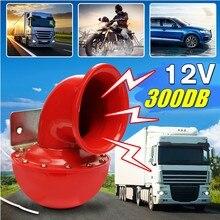 12v alto 300db caracol elétrico chifre de ar fúria som para o carro da motocicleta caminhão barco guindaste 2020 novo carro ar caracol chifre touro
