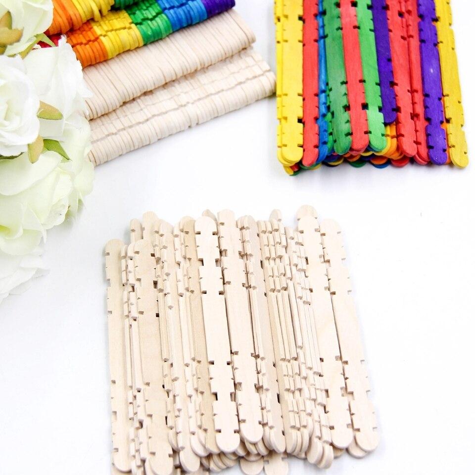 Palitos y Palillos MADERA manualidades DIY sostenible comprar sin plástico mix multicolores ejemplo varios modelos