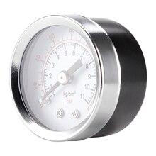 X7XD 40mm Pressure Gauge 40mm 1/8 NPT Rear Back 0-160psi 0-10bar  For Air Gas Wate Fuel
