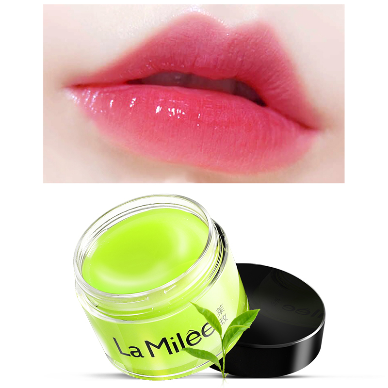 Pure and Fresh Matcha Moist lip film Moisturizing Lip Balm Anti cracking Exfoliating Scrub Lip care 20